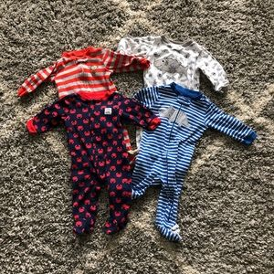Carters Footsie Pajama Bundle